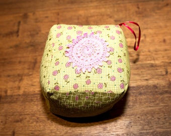 Decorative Lavender Filled Fabric Cubes