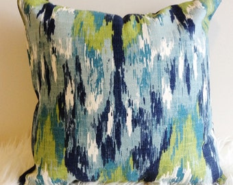 Ikat Accent Pillow