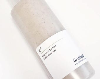 E2: Extract and Enzyme Natural Face Wash. Enzyme Cleanser. Facial Cleanser. Sensitive Skin. Skincare. Face Wash.