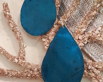 Earrings Copper Gorgeous Aqua