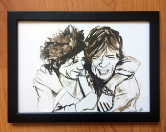 Rolling Stones illustration- art print