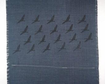 Screen printed table napkins