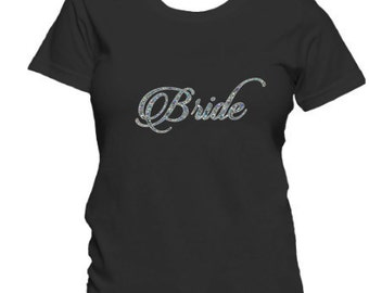 Bride shirt, wedding party shirt, bride t shirt, bride tee, bridesmaid shirt, team bride, bridal shirt, bridal party shirts, bridal party