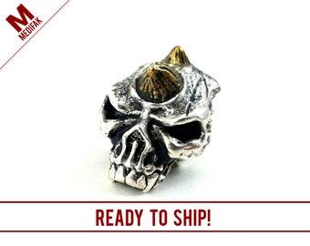 EDC Demon Skull Bead