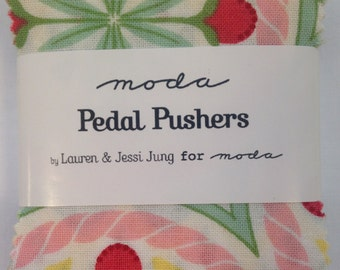 Moda Pedal Pushers Mini Charm Pack by Lauren + Jessi Jung