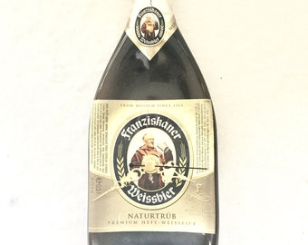 Franziskaner Weissbier Munich beer bottle clock