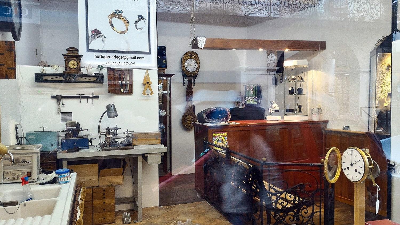 Atelier d Horlogerie _  Bijouterie Michel Comte
