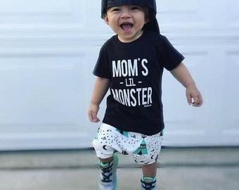 Mom's Lil Monster Infant & Toddler Tee