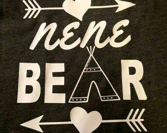 Nene/Nana Bear Shirts