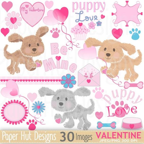 valentine puppy clipart - photo #21