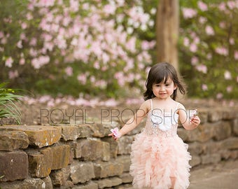 Little Girl DRESS, Little Girl Dresses, Toddler Dresses, Floral Dress, Girls Summer Dress, Girls Spring Dress, Pink Dresses