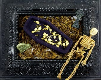 "Crypt Coffin ""Moon Lake Musk"" Scented Bath Bombs"