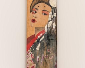 Geisha - Colección Carmen Navarro Ilustración