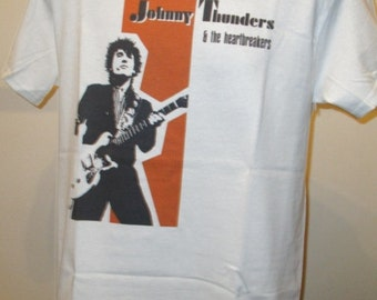 Johnny Thunders And The Heartbreakers T Shirt - Retro Music Apparel Fashion Graphic Tee Men & Women 140