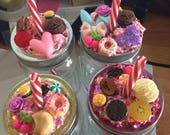 Decoden cute jar with straw - READYFORSUMMER