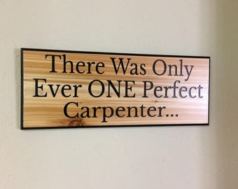 Carpenter sign