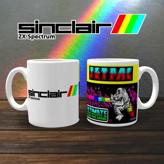 ZX Spectrum Jetpac Mug