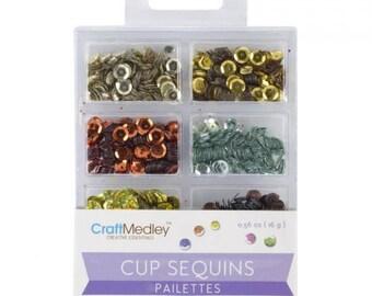 Cup Sequins Sequins, Dazzling Metallics Code: NM-GC457-J