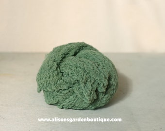 Newborn Cheesecloth Baby Wrap- Swaddle- Layering Piece- Photography Prop- Green- St. Patricks Day