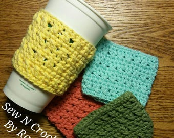 Cotton Cup Sleeves