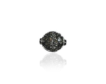 SDC-1428 Bead Pave Diamond Charm