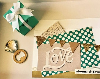 Breakfast at Tiffany's inspired* boxes with gift favors (*50 COUNT**)