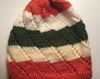 Hand Knit Beanie / Hat