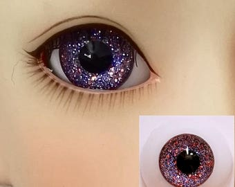 Glitter Doll Eyes for BJD Dollfie 8mm 10mm 12mm 14mm 16mm 18mm 20mm 22mm