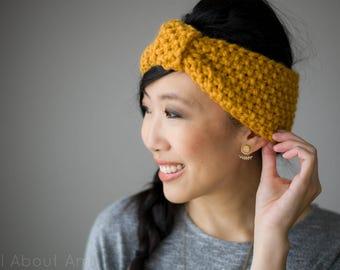 Simple Seed Stitch Headband Knit Pattern