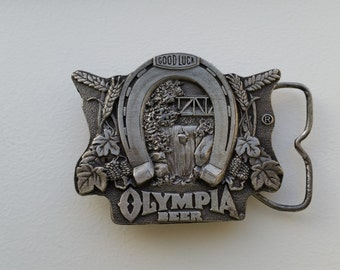 Olympia Beer Belt Buckle
