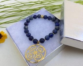 ON SALE!!!!! Lapis lazuli bracelet