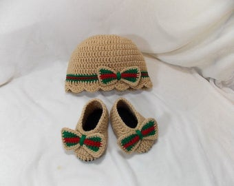 Gucci inspired set crochet