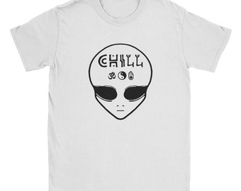 Grunge Chill Alien Shirt