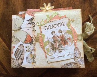 Treasure These Moments Always Friend Photo and Journaling Memory Book