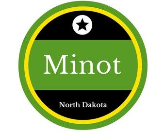 Minot AFB Sticker