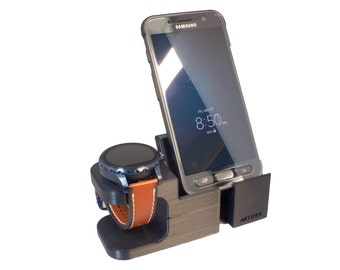 Fossil Q Wander / Marshal / Founder V2 Watch Stand, Artifex Charging Dock Stand, New 3d Printed Technology