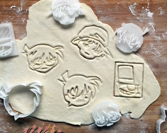 detective conan - Character cookie cutters