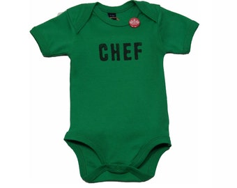 Baby Bodysuit short sleeve (green) - Handbedruckt in the Maddy860 factory in Dusseldorf head 0-18 months - Babystrampler