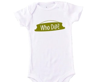 New Orleans / Saints Onesies (3 pack) Baby Gift