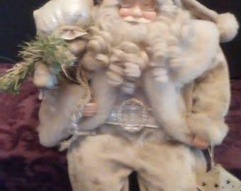 Sitting Santa Claus Doll, # 1100/83