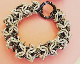Interweaved bracelet