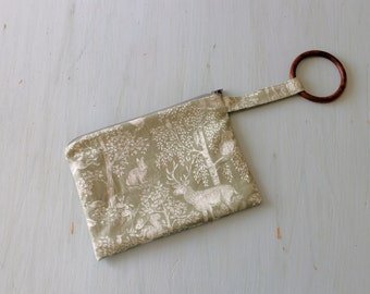 Forest Animals Bangle Clutch Bag