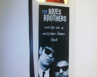 BLUES BROTHERS Rare Movie Film Cell Bookmark …
