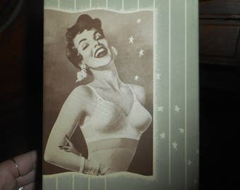 Vintage Life Formfit Bra Box Only Great Pin Up Graphics 1950s