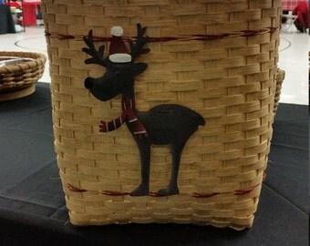 SALE* Reindeer Basket