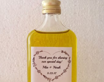 FREE SHIPPING 20 Greek Olive Oil  Favors, Baby Bridal Shower Wedding Party Favors, Premium Extra Virgin  Olive Oil, Choose your Labels