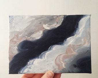Clouds Oil Painting