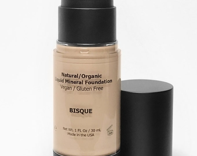 Vegan Liquid Foundation, Liquid Foundation, Organic Foundation, Bisque Foundation, Liquid Foundation, Natural Liquid Foundation, Vegan