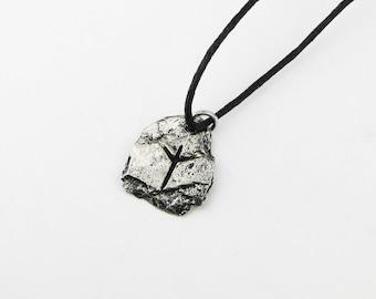Algiz Viking Rune Letter X or Z Runic Pendant
