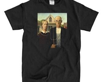 American Gothic - Black T-shirt